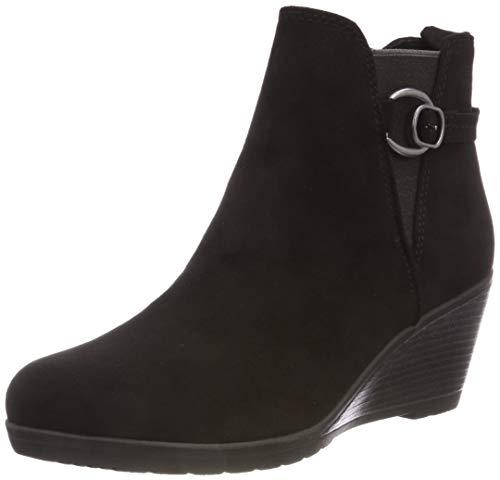 MARCO TOZZI Damen 2-2-25042-21 001 Chelsea Boots, Schwarz (Black, 36 EU