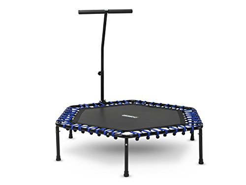 Sechseckiges-Fitness-Trampolin-Indoor-Sportgert-Jumping-mit-dem-Griff-Neo-Sport-1101