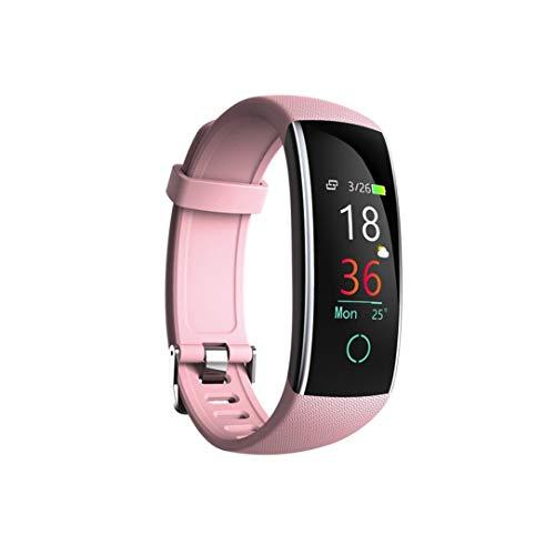 IP68Wasserdicht Multifunktions Smart Watch, mamum Smart Farbe Bildschirm Blut Druck Übung Herzfrequenz Schrittzähler Smart Watch Einheitsgröße rose