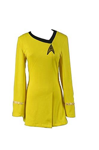 male Duty Uniform Gelbes Kleid Cosplay Kostüm Damen XS ()