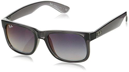 Ray-Ban Herren 0RB4165 606/U0 51 Sonnenbrille, Transparent Grey/Greygradientmirrorred,