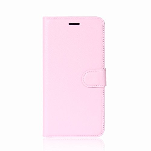 "XMTN Asus ZenFone 5 ZE620KL 6.2"" Custodia,Premio PU Custodia in Pelle con Wallet Case Cover per Asus ZenFone 5 ZE620KL Smartphone (Rosa)"