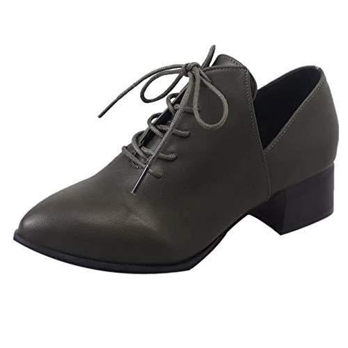 Quaan Mode Winter Frau britisch Dick Hacke Mit Pumps Stiefel Schnüren Schuhe Mode Hoch Absätze Stiefel Klassisch Einfachheit elegant Retro Abendessen Geschäft weich gemütlich warm beiläufig