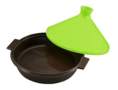 Pearl H & B silicone range Fast tagine pot 22cm Green C-9231 (japan import)