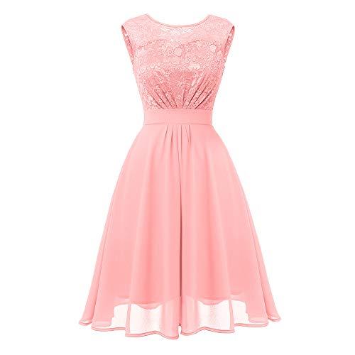 Swing Kleid Brautkleider Hochzeitskleider Lange Kleider elegant für Hochzeit Abendkleider lang...