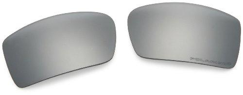 Oakley Repl. Lens Gascan l Black Iridium Polarized (Oakley Gascan Lens)