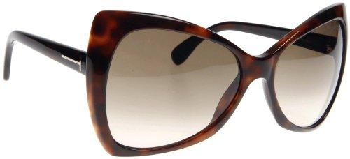 Tom Ford Für Frau 0175 Nico Tortoise / Brown Gradient Kunststoffgestell Sonnenbrillen