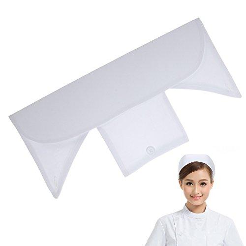 Tinksky Krankenschwester-Kostüm-Zusätze Cosplay-Hut Lustige Party-Hüte -