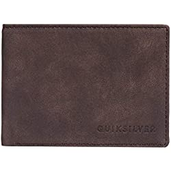 Quiksilver Slim Vintage III Wallets, Hombre, Chocolate, M