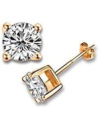 Yparah - Boucles D Oreilles Zircon - Cristal de la Maison Swarovski - Femme 9a7f0b154acf