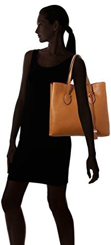 Coccinelle Ladies C1 Yi0 Shopper Celeste E Tracolla, 12x33x35 Cm Marrone (marrone)