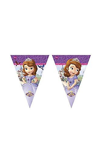 Disney 2,3m Sofia die Erste Wimpelkette Banner (Sofia Die Erste-banner)
