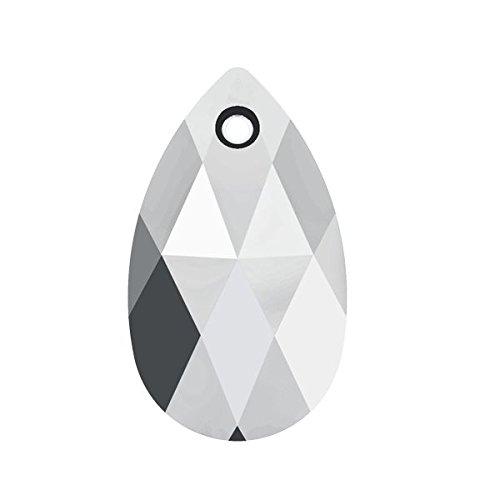 Swarovski Kristall Mandel Anhänger Swarovski 6106mm 16,0Kristall-Leuchte chrom 6Stück, echte (Mandel-leuchten)