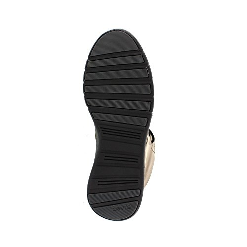 Levis Carbon, Sneaker a Collo Alto Uomo Grigio (Dull Grey)