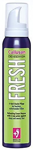 Callusan Cremeschaum Fresh, 1er Pack (1 x 125