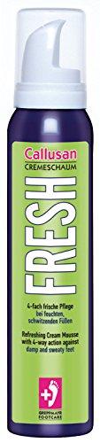 Callusan Cremeschaum Fresh, 1er Pack (1 x 125 ml)