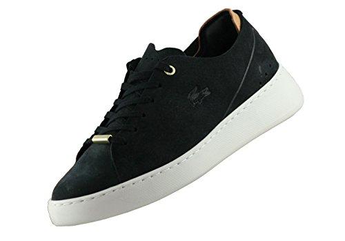 Lacoste 734caw0080454, Sneaker donna Black/Off White