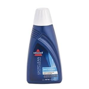 Bissell 1084N Spot & Stain Reinigungsmittel für SpotClean und andere Flecken-Reinigungsgeräte, für Teppiche und Polster, 0,47 Liter