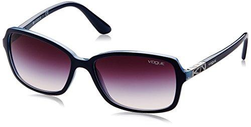 Vogue Gradient Rectangular Women'S Sunglasses - (0Vo5031S23883658|57. 9|Pink Gradient Grey) image
