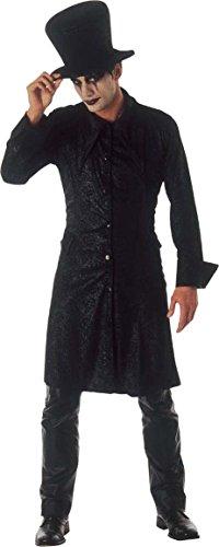 Männer Kostüme Für Lustige Halloween Billig (Halloween-Vampirkostüm Raven Lord schwarz)