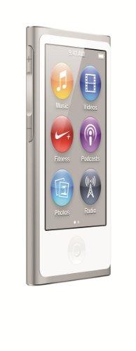 Apple iPod Nano 16 GB 7 Gen. Argento