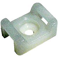 Cofan 08000005 Base atornillable para Bridas, 9 mm