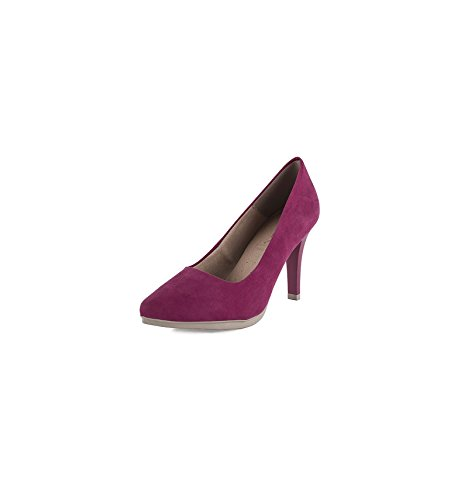 Made In Spain Damen Pumps, Rot - Fuchsia - Größe: EU 38