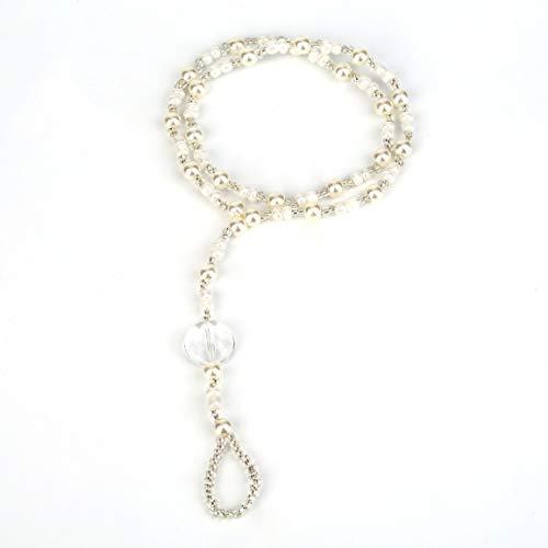 Fußkettchen Barfuß Sandalen Brautstrand Simulierte Perle Fußschmuck Fußkettchen Kette Armband Weibliches Strandzubehör Einfache Anpassung fghfhfgjdfj
