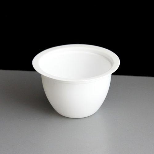 Small 190 ml White Plastic Individual Pudding Basin, Pack of 10
