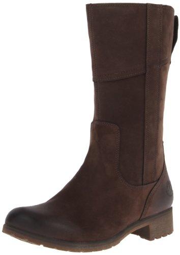 Timberland Putnam Ftw_ek Botte Putnam Mid Side Zip, Stivali Donna Marrone (braun (nubuck Brun Foncé))