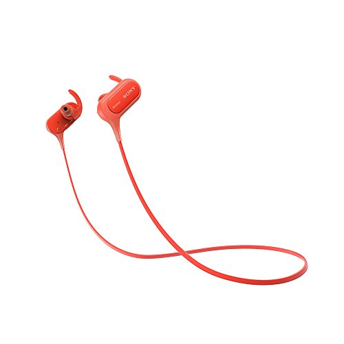 Sony Extra Bass MDR-XB50BS in-Ear Active Sports Wireless Headphones (Red)