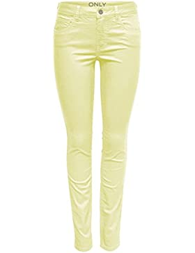 Only Pantalones Mujer 38#34, Yellow Pear
