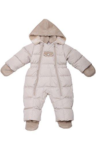 oceankids-kinder-baby-jungen-beige-entendaunen-einteiler-abnehmbare-kunstfell-kapuze-9-12-monate