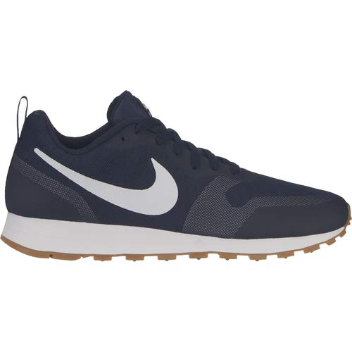 Nike Herren MD RUNNER 2 19 Laufschuhe, Blau  (Obsidian/White-Monsoon Blue 400), 44 EU, (UK 9) (Blau 9 Air Jordan)