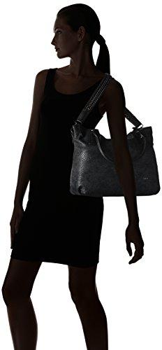Gabor - ISKA, Borsa shopper Donna Nero (Schwarz (schwarz 60))