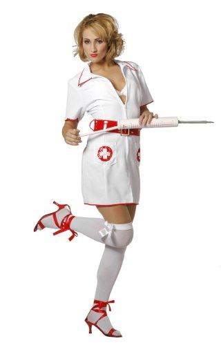 Imagen de stekarneval  disfraz de enfermera sexy para mujer, talla 36 420636