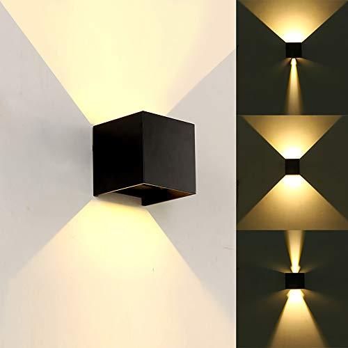 Lámpara pared LED moderna 12W / ángulo haz ajustable