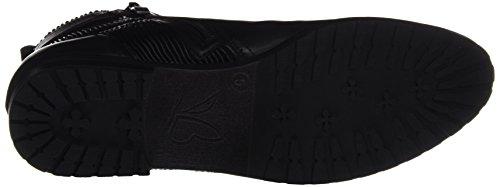 Caprice Damen 25350 Chelsea Boots Schwarz (Black NAP.Comb)