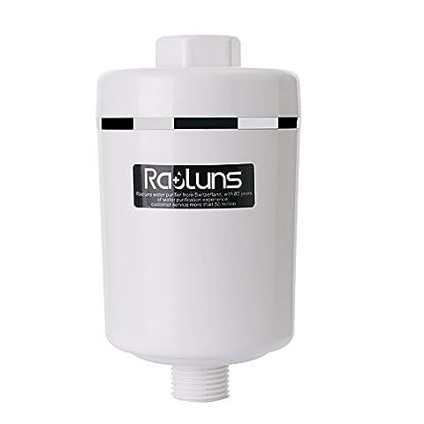 raoluns-Filter Kartusche Dechlorination Bath Spa Hohe Ausgangsleistung Universal Dusche Filter lls-uf-06(B1)