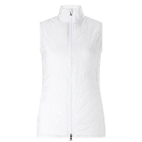 Callaway Puffer Vest Weste, Golf, Damen L weiß