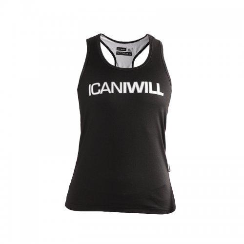 Top - Icaniwill Tanktop schwarz