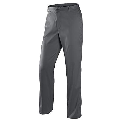 Nike Golf Tour Performance avant plat Tech Pantalon de golf Dri Fit 597323012, Homme, gris foncé, W34/L32