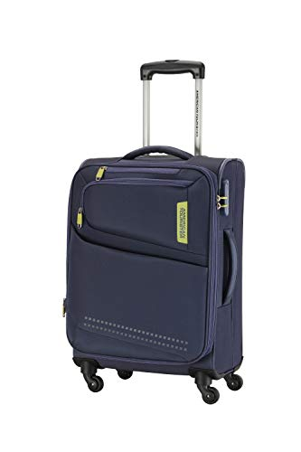 American Tourister Denton Polyester 69 cms Blue Softsided Check-in Luggage (FK9 (0) 01 002)