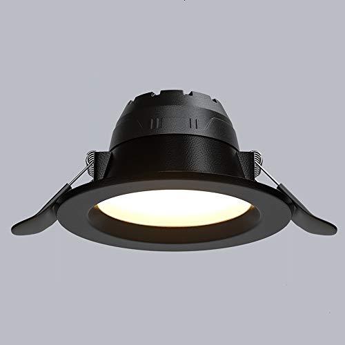 GLBS 5W/7W/12W/15W/18W Comercial Negro Integrado Parrilla De Aluminio Resaltar Downlight Negocio Interior...