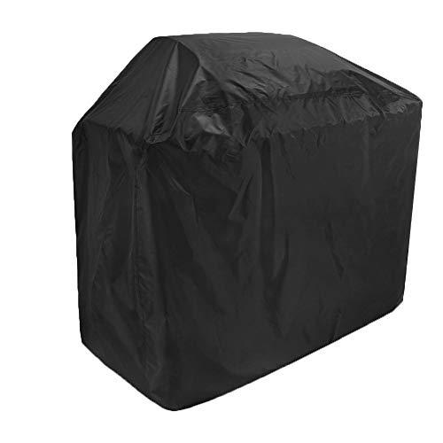 YXX- Couvertures de meubles Couvertures de salle à manger de patio de couverture de puits de feu de place noire, tissu imperméable et résistant aux intempéries de 210D Oxford (taille : 100x60x150cm)