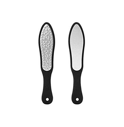 YWT Professionelle Knöchel 304 Edelstahl Doppelseitige Pediküre Fußschleifmaschine Hart gebrochene Haut Schwielen abnehmbare tragbare Fußpflege