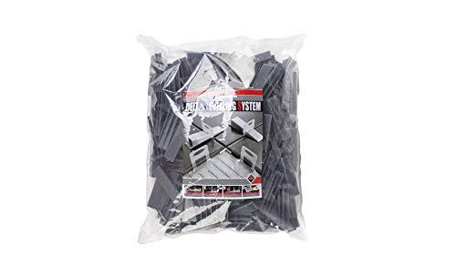 Rubi 2843 cuñas de nivelación, Negro, Set de 100 Piezas