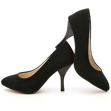 Moda Donna Sandali Sexy donna tacchi Primavera / Estate / Autunno tacchi / Punta PU Office & Carriera / Casual Stiletto Heel altre nere Red