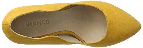 Bianco Damen Wellen Pumps 24-48713 Gelb (Yellow)