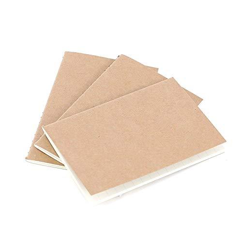 Gysad Lot de 3 carnets de notes lignés pour filles garçons et filles 64 pages
